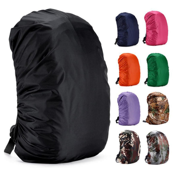 35/45/60LAdjustable Waterproof Dustproof Backpack Rain Cover Portable Ultralight Shoulder Protect Outdoor tools Hiking