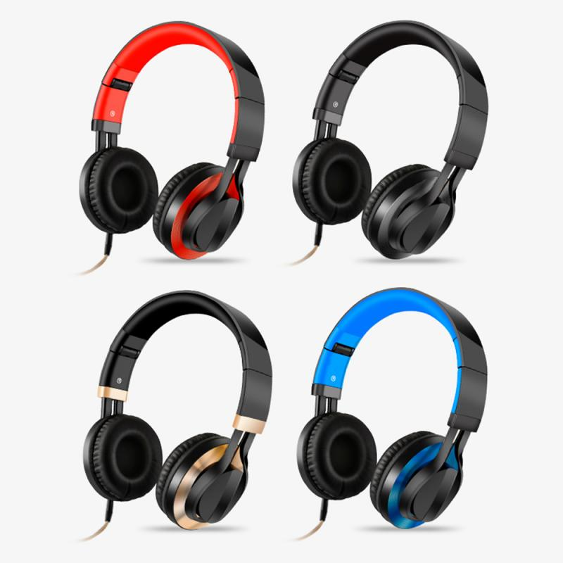 4 Colors Wireless Bluetooth Headphones 3D Stereo Earphone With Microphone Headset Gaming Headphones For Xiaomi Huawei PC