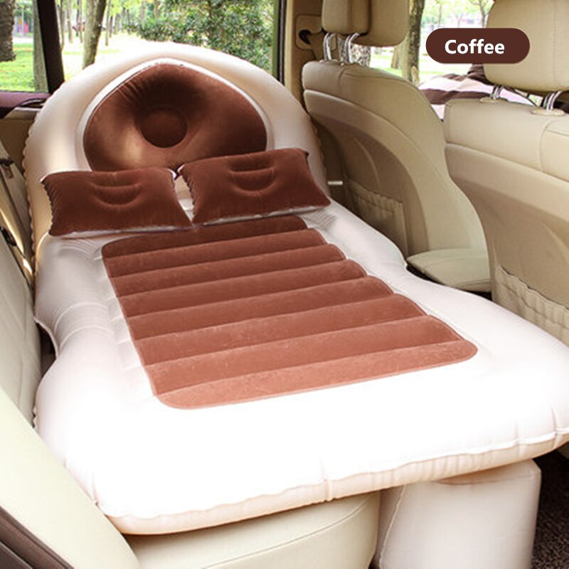 135X80X10cm Camping Car Bed Car Mattress Car Back Seat Cover Air Mattress Travel Bed For SUV          Colchon Inflable Para Auto