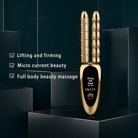 Microcurrent  For The Face Lift Machine Roller Beauty Slim Skin Care Massager Body Facial Firming Beauty Gua Sha Face Lift Tool