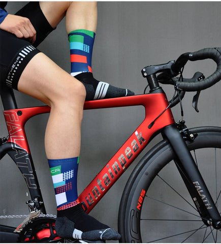 Cycling Socks Bicycle Outdoor Racing Bike Compression Sport Sock