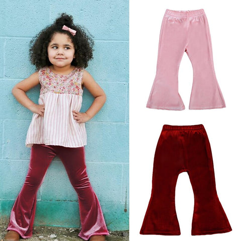 Kids Infant Baby Girls Girl Clothes Clothing Pants Toddler Spring Long Trousers