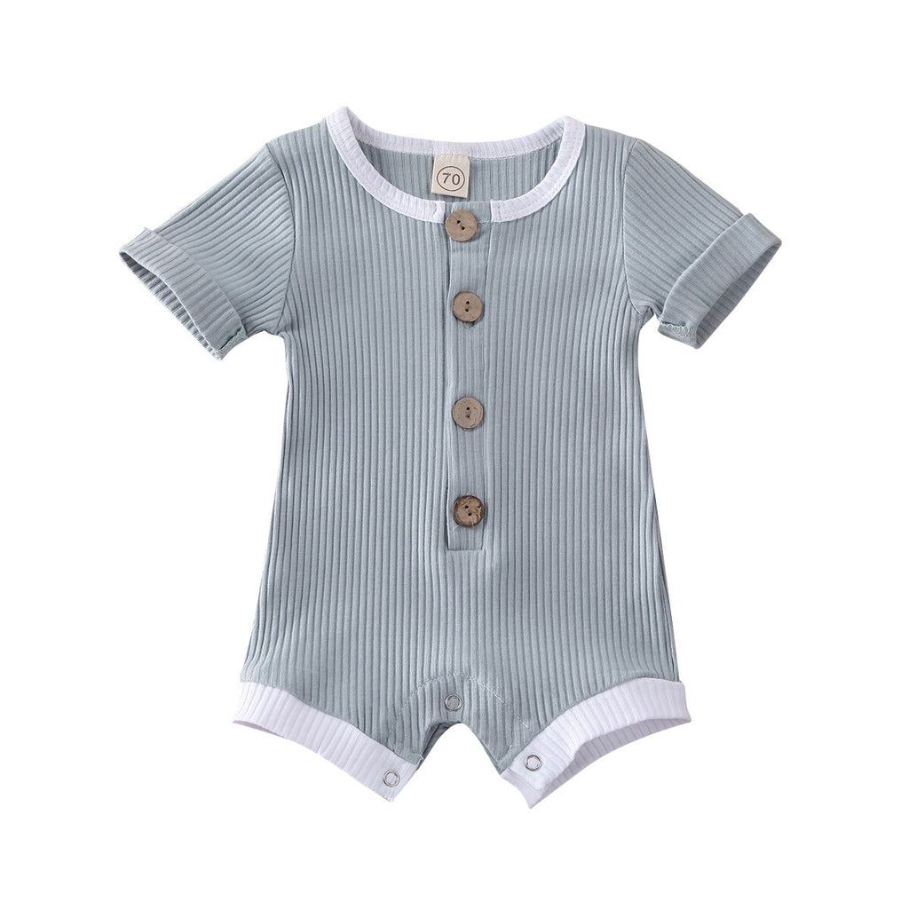 Summer Sea Animal Infant Baby Romper Summer Short Sleeve Onesie