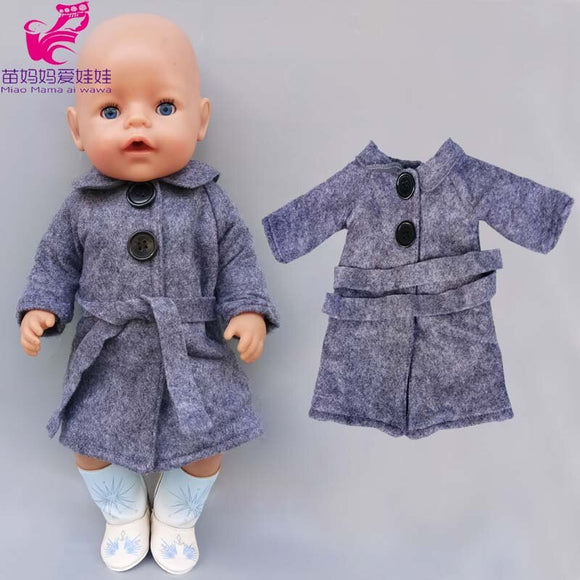45cm Baby new  Doll summer strap shirt hat for 40cm doll clothes children girl toys oufits