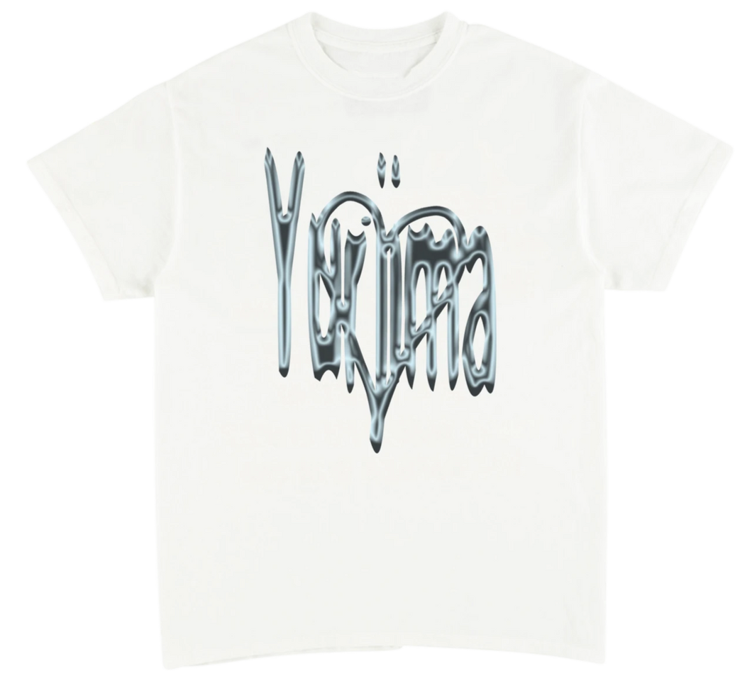 LIQUID LOVE TEE - WHITE