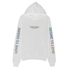 Load image into Gallery viewer, Holographic Logo Hoodie White