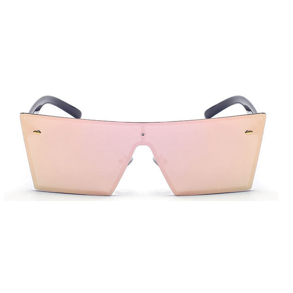 Square Frame Women's Rimless Sunglasses