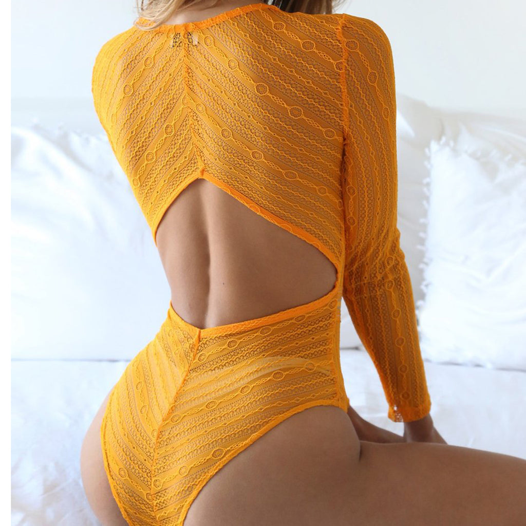 Backless Body Suit Bodycon