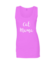 Ladies SoftStyle® Tank Top - CAT MAMA