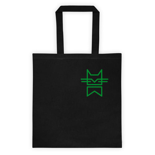 MINIMAL CAT GREEN Tote bag
