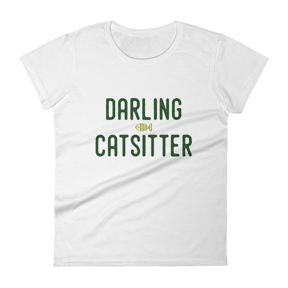 DARLING CATSITTER I Women's short sleeve t-shirt