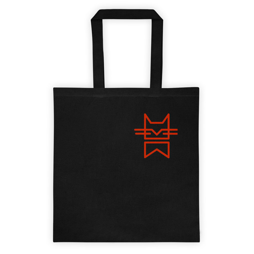 MINIMAL CAT RED Tote bag