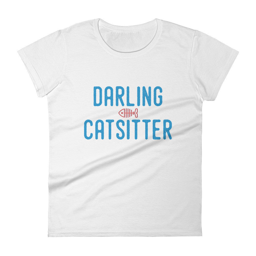 DARLING CATSITTER III Women's short sleeve t-shirt