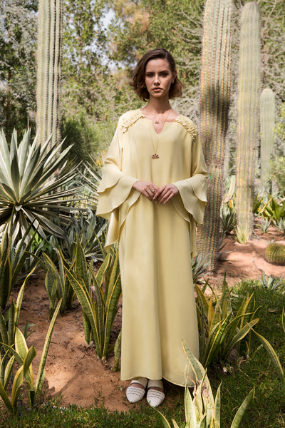 GRACE Kaftan- Yellow