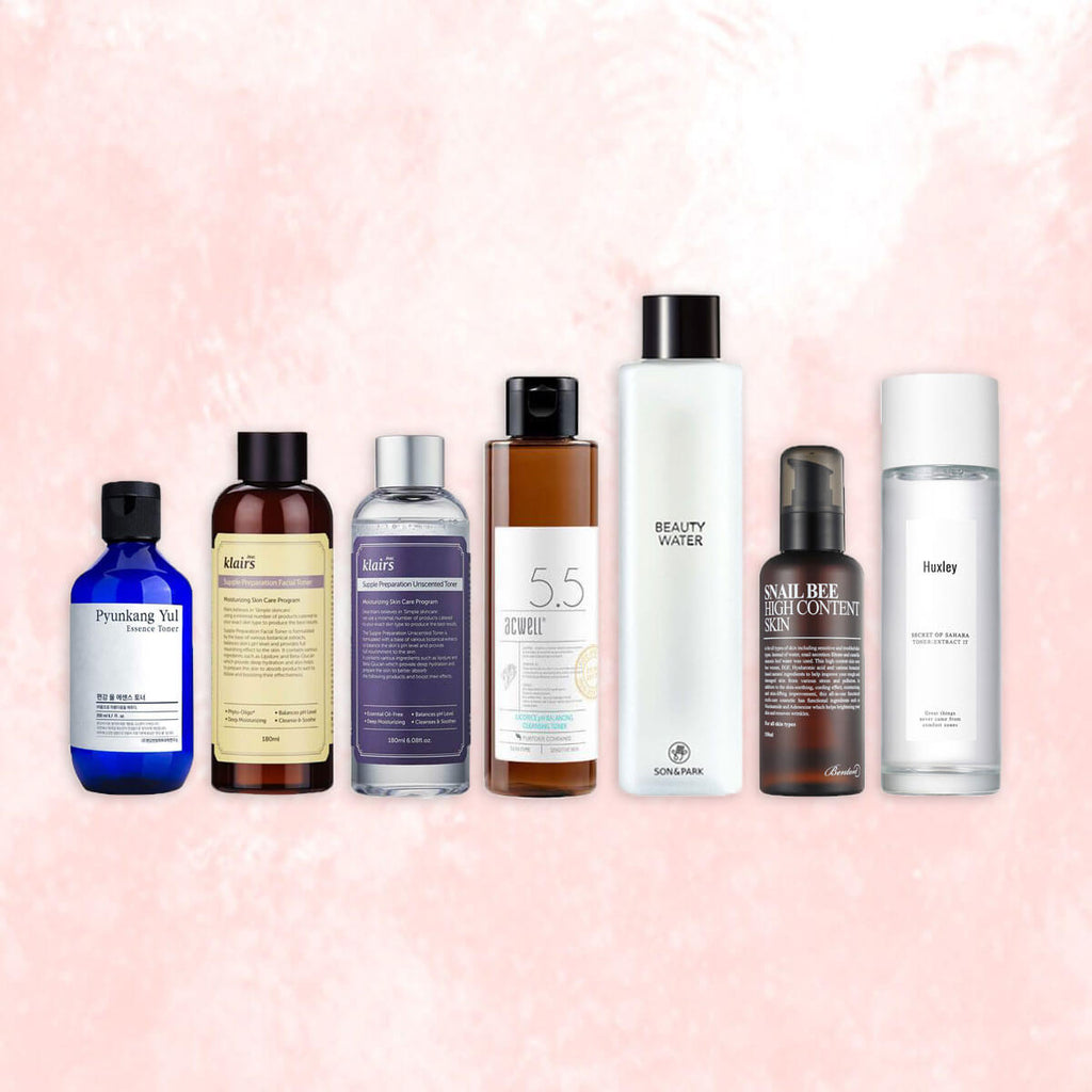7 Best Toners for the 7-Skin Method