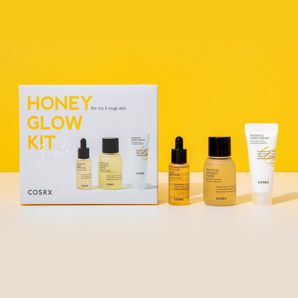 COSRX Honey Glow Kit Propolis Trial Kit (3 Step)
