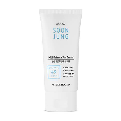 Soon Jung Mild Defence Sun Cream 50ml