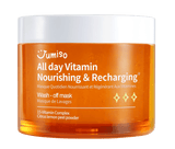 Jumiso All Day Vitamin Nourishing & Recharging Wash-off Mask 100ml