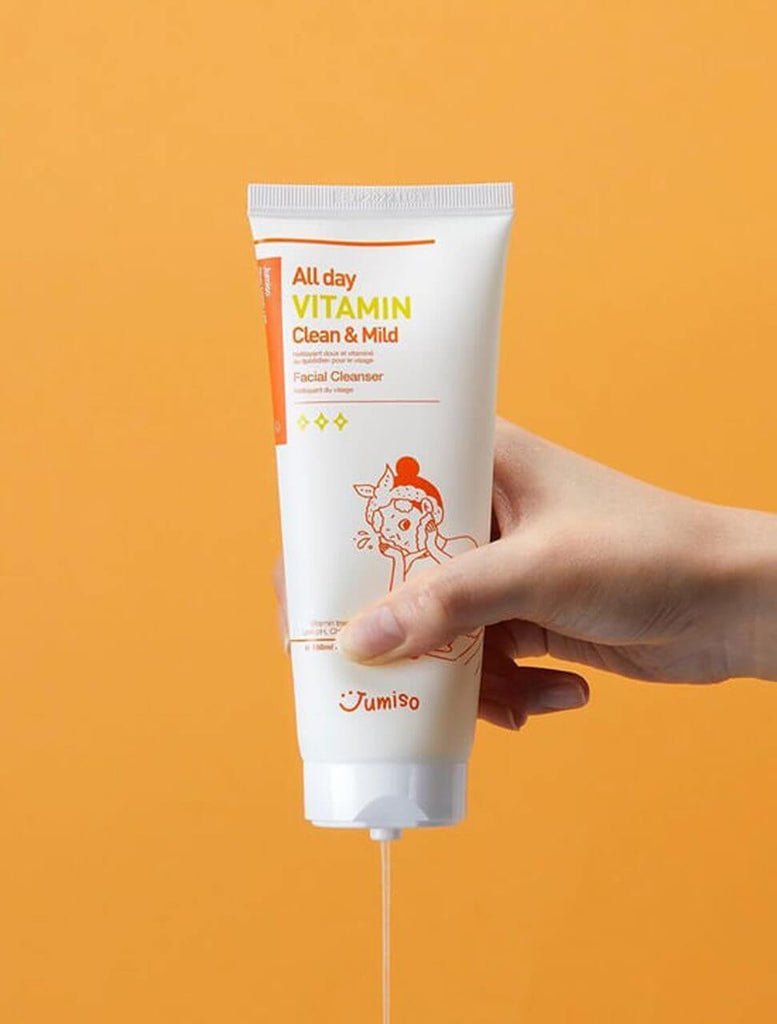 Jumiso [CLEARANCE] All day Vitamin Clean & Mild Facial Cleanser 150ml [Old packaging]