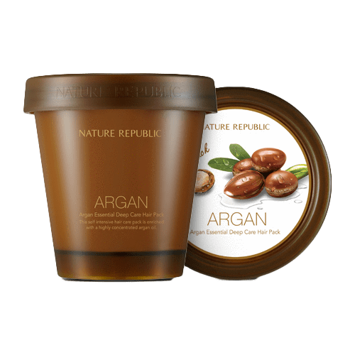 Nature Republic Nature Republic Argan Essential Deep Care Hair Pack 200ml