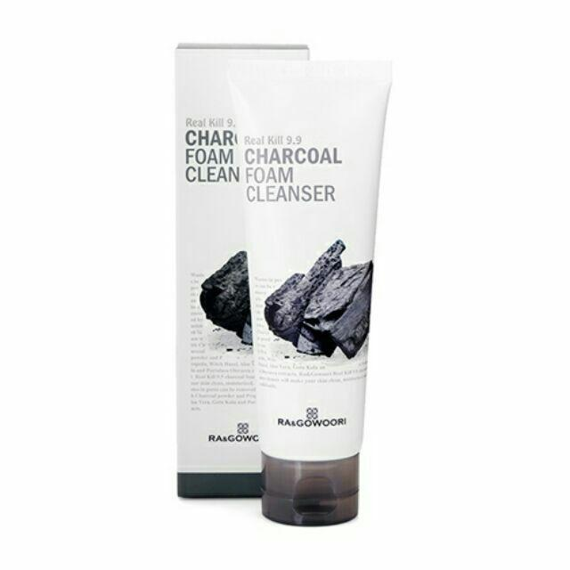 Buy Ra & Gowoori Charcoal Foam Cleanser Philippines Go Bloom and Glow