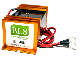 Battery Life Savers BLS-48N Desulfator For 48V Golf Carts