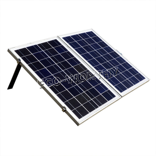 50W Folding Solar Panel Portable Kit for 12V - Camping, Boat, RV