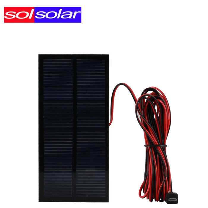 Outdoor/Indoor Solar Lamp Powered led  Lighting System Light 1 Bulb solar panel Low-power camp nightfair travel used 5-6hours