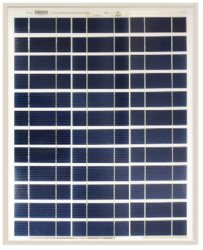 Ameresco Solar 40J 40W 12V Solar Panel With J-box