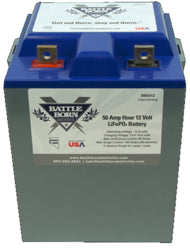 Battle Born Lithium Iron Phosphate 50Ah 12V Battery