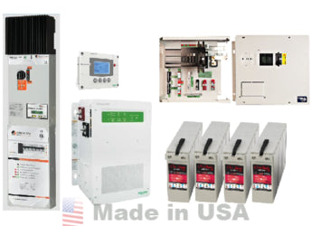 DC-coupled retrofit battery backup system