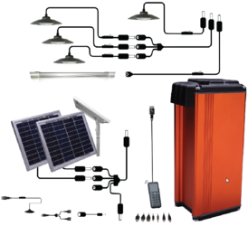 Phocos 4Ah LS Series Portable Energy Kit