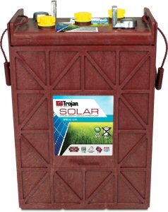 Trojan SPRE 02 1255 (L-16-RE-2V) Solar Premium Line Flooded Battery