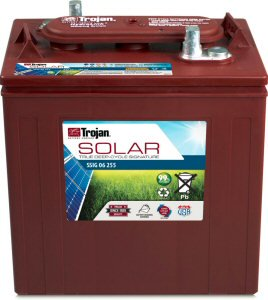 Trojan SSIG 06 255 (T-105) Solar Signature Deep Cycle Golf Cart Battery