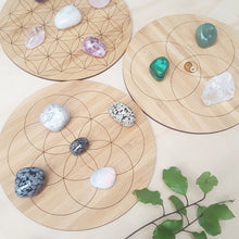 Tripod of Life Crystal Grid