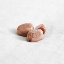 Peach Moonstone Tumbled Stone