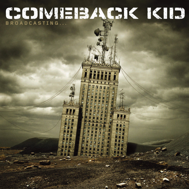COMEBACK KID - BROADCASTING - LP
