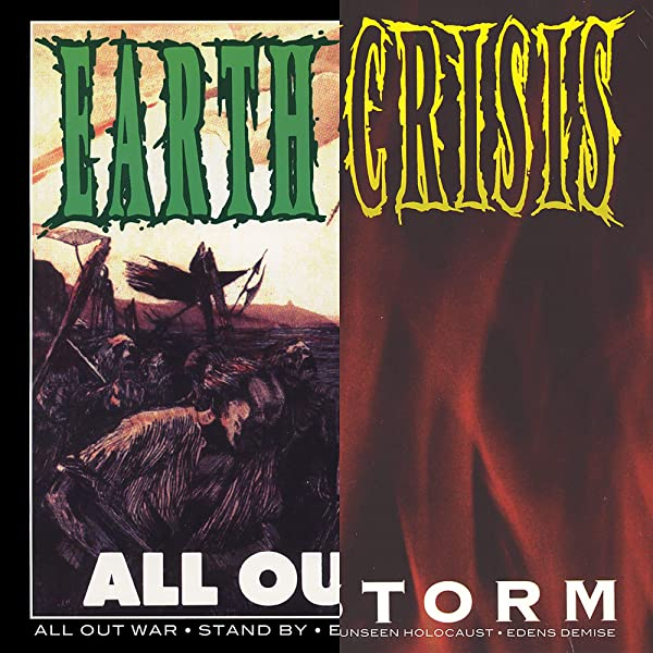 EARTH CRISIS - ALL OUT WAR / FIRESTORM - LP