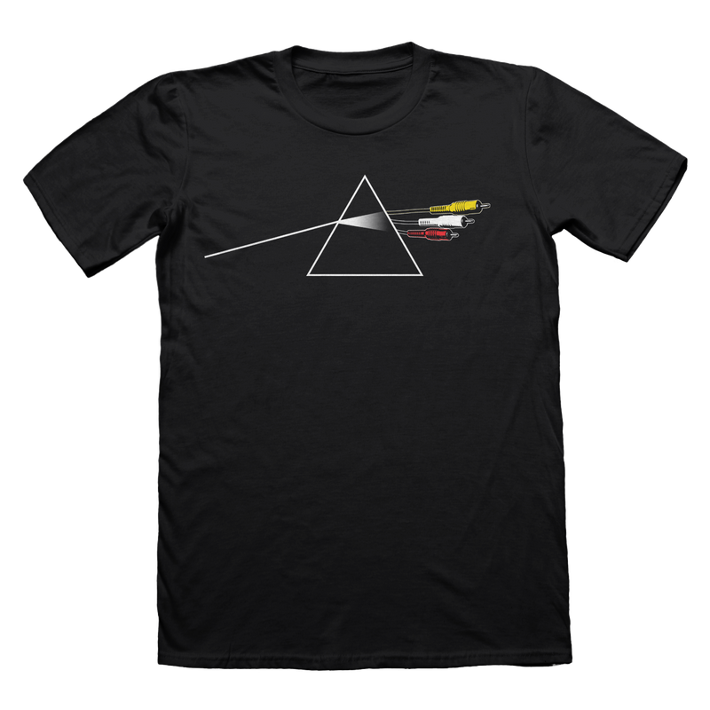 Dark Side of the RCA Cord T-Shirt