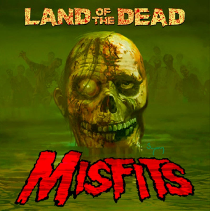 MISFITS - LAND OF THE DEAD VINYL