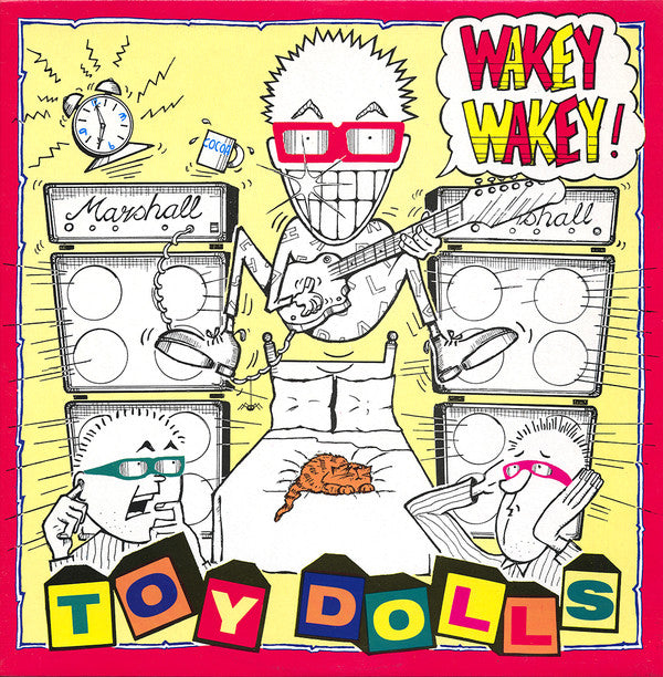 THE TOY DOLLS - WAKEY WAKEY! - LP