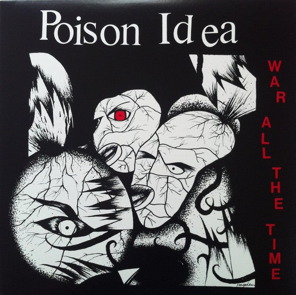 "POISON IDEA - ""WAR ALL THE TIME"" LP"