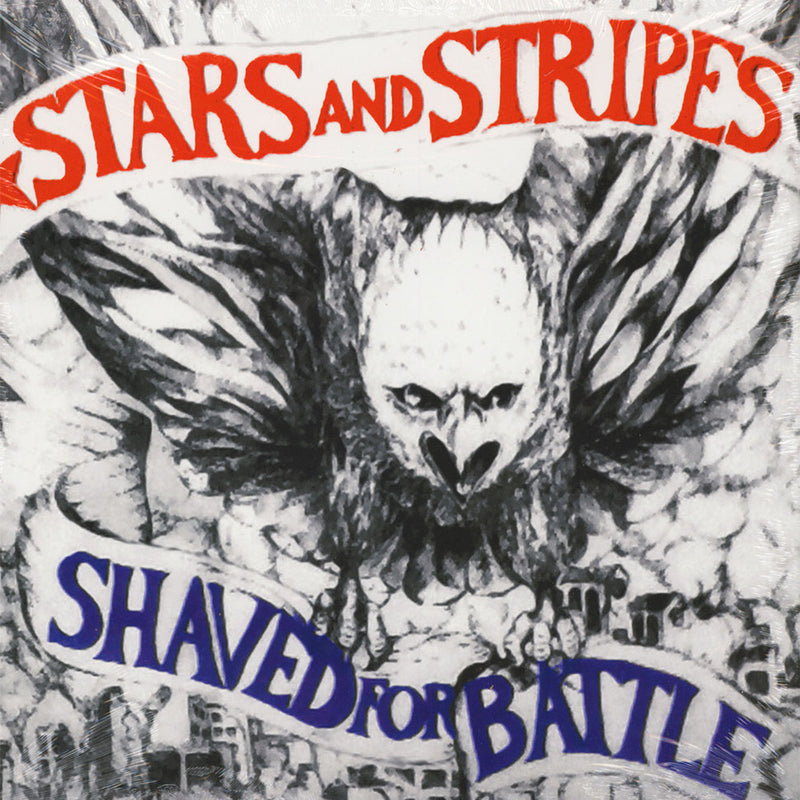 STARS & STRIPES - SHAVED FOR BATTLE  VINYL