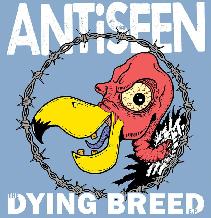 "ANTiSEEN - THE DYING BREED 12"" EP SILVER VINYL"