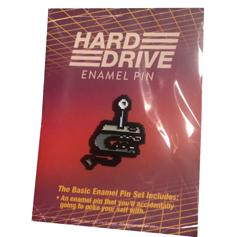Hard Drive Enamel Pin