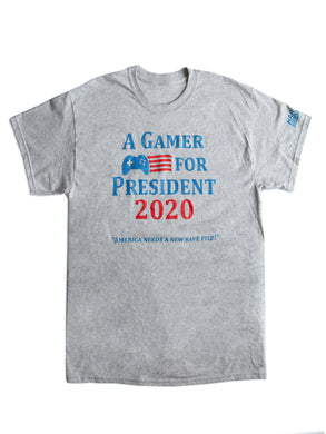 Gamer For President Women T-shirts (Official 2020 Campaign Merch)