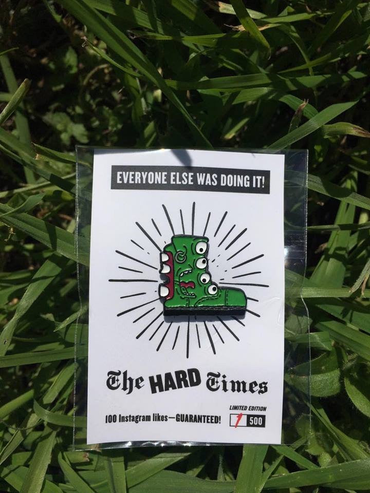 Hard Tim Enamel Pin
