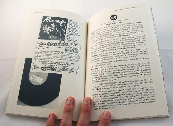 Punk USA: The Rise and Fall of Lookout Records BOOK