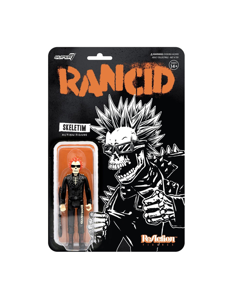 RANCID REACTION FIGURE - WAVE 2 - SKELETIM CHARGED