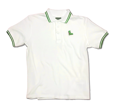 The Hard Times Polo in White